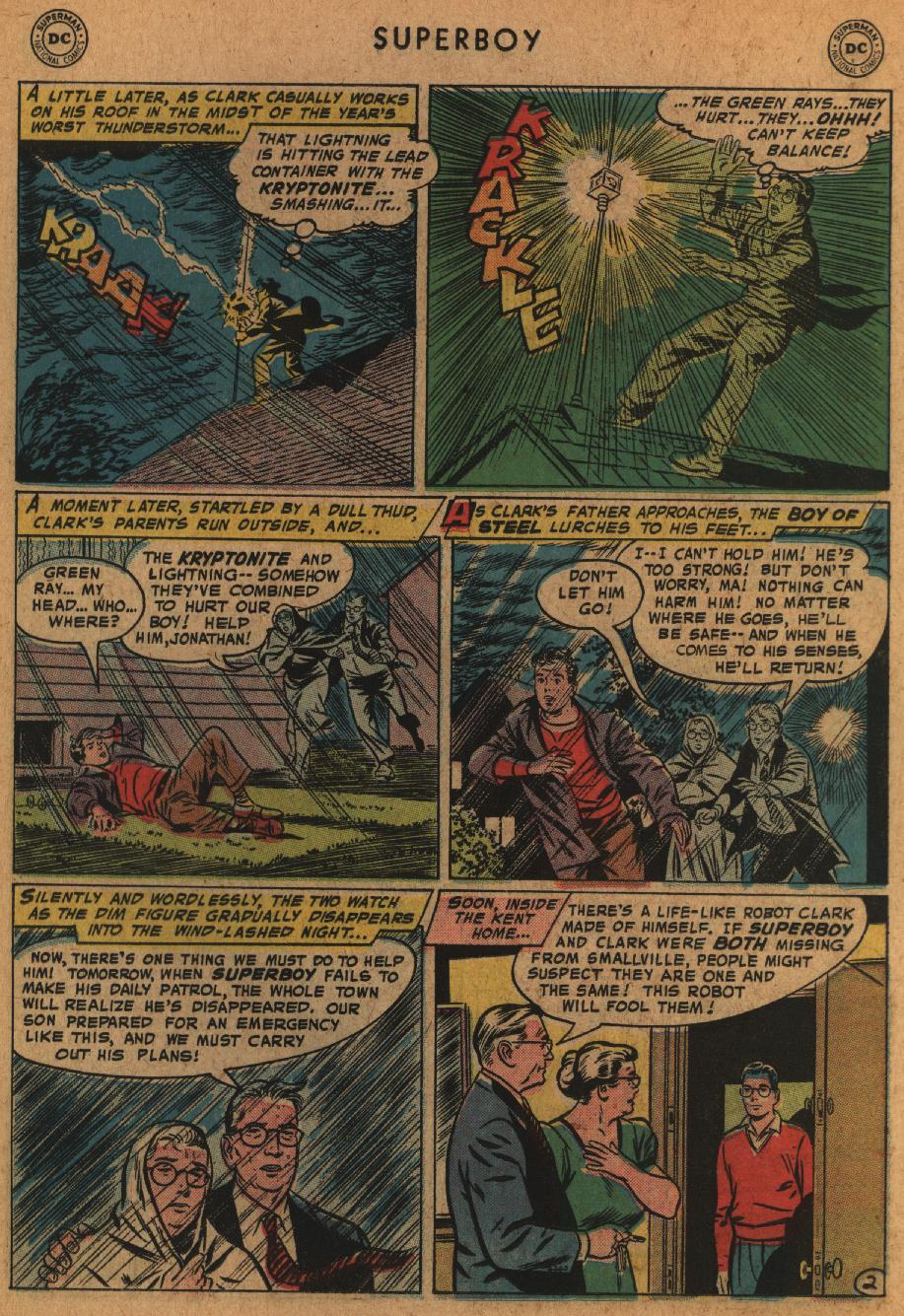 Superboy (1949) issue 63 - Page 23