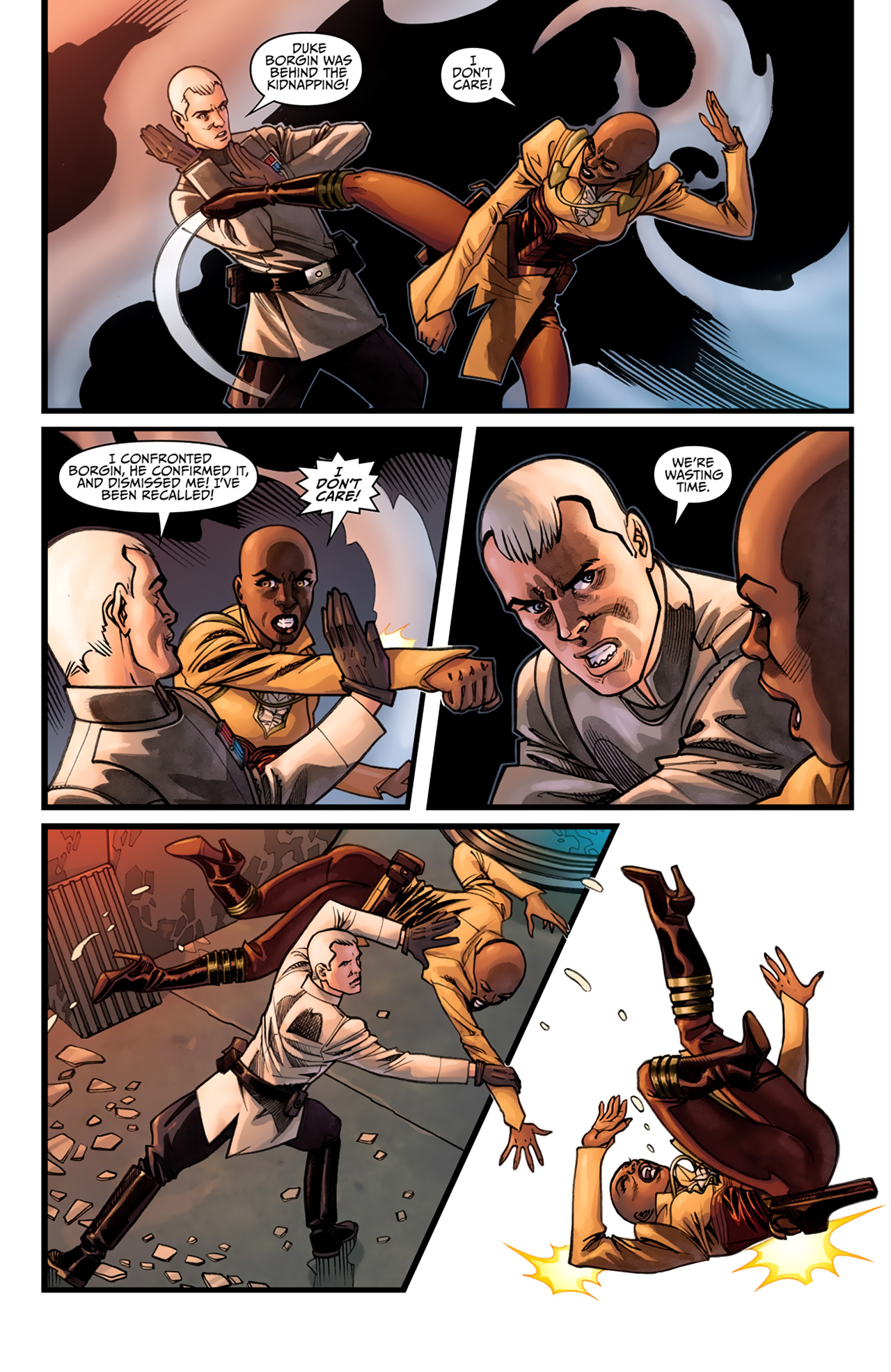 Read online Star Wars: Agent Of The Empire - Hard Targets comic -  Issue #4 - 6