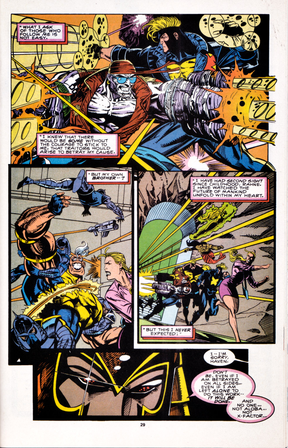 Read online X-Factor (1986) comic -  Issue #100 - 25