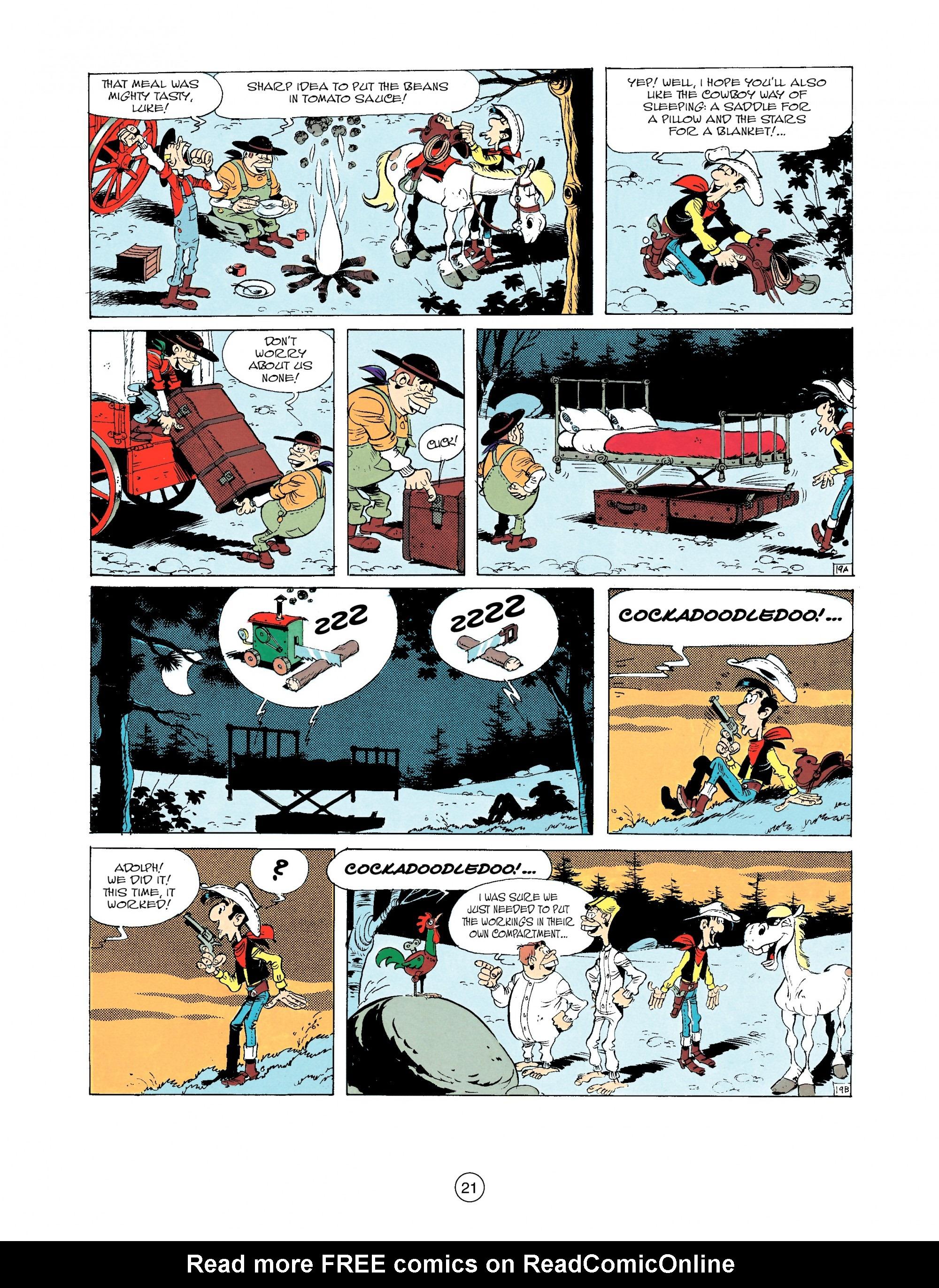Read online A Lucky Luke Adventure comic -  Issue #33 - 21