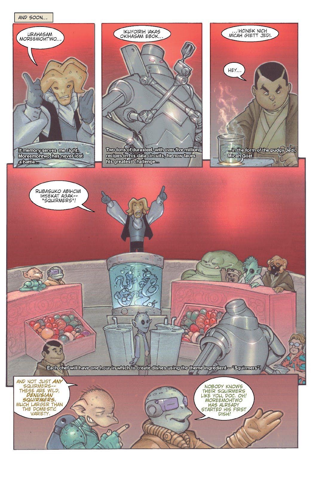 Read online Star Wars Legends: Rise of the Sith - Epic Collection comic -  Issue # TPB 1 (Part 5) - 74