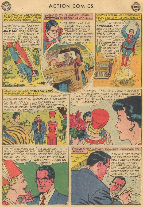 Read online Action Comics (1938) comic -  Issue #298 - 8