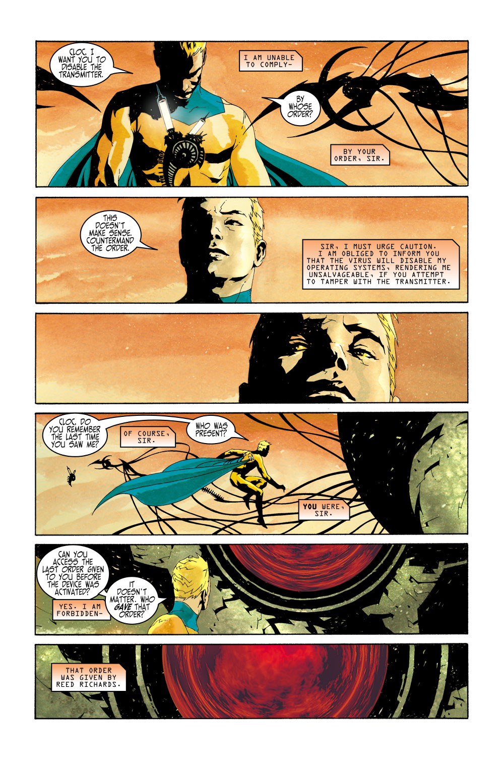 Read online Sentry (2000) comic -  Issue #5 - 4