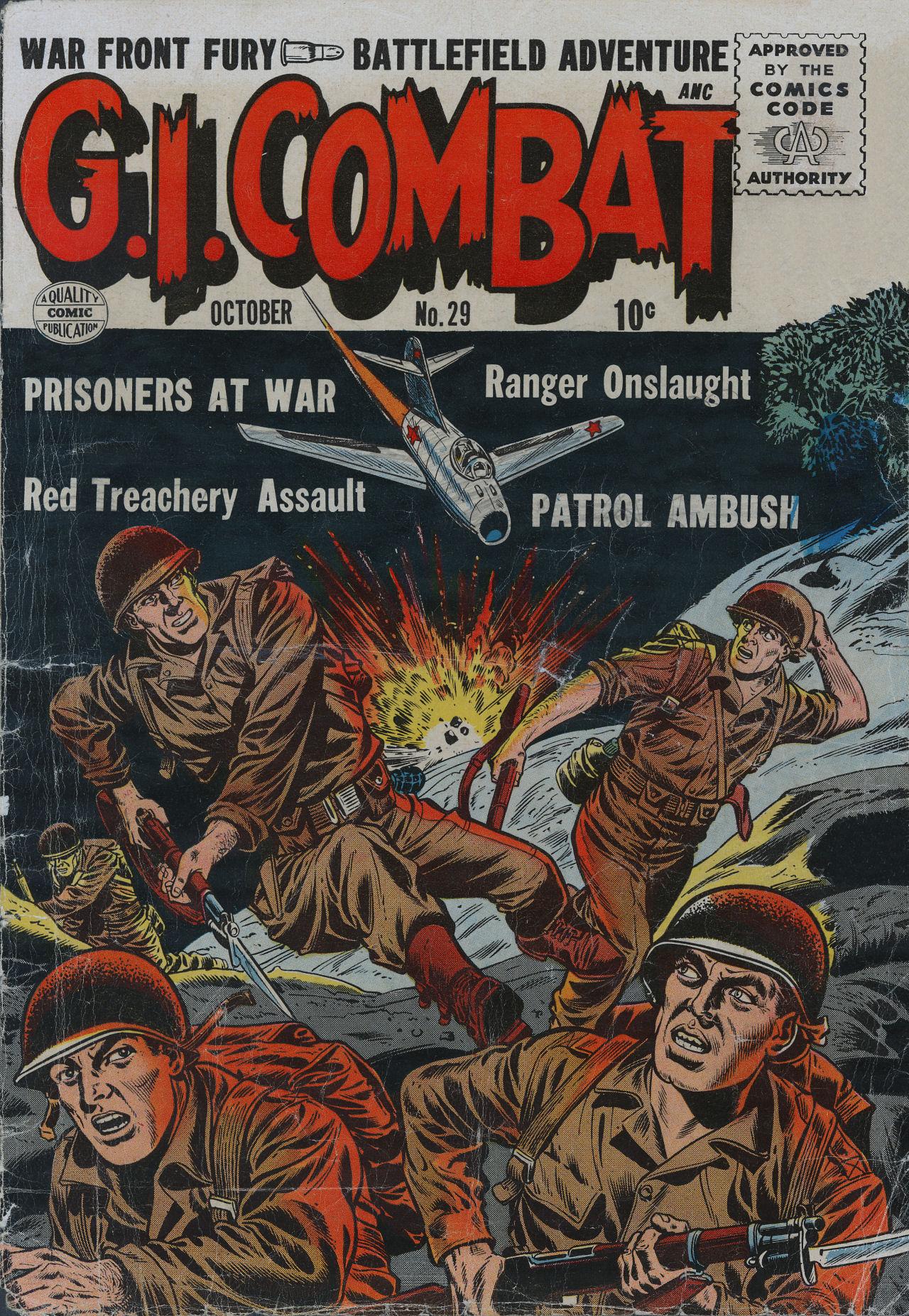 G.I. Combat (1952) 29 Page 1