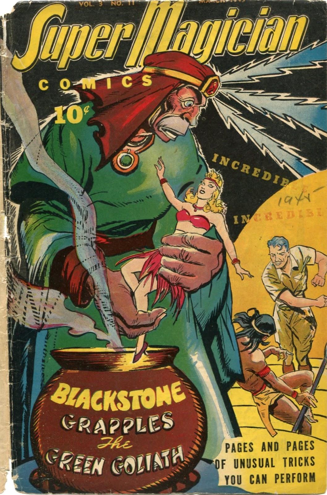 Read online Super-Magician Comics comic -  Issue #35 - 1
