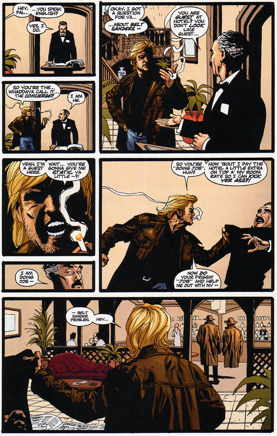 Wildcats (1999) Issue #11 #12 - English 10