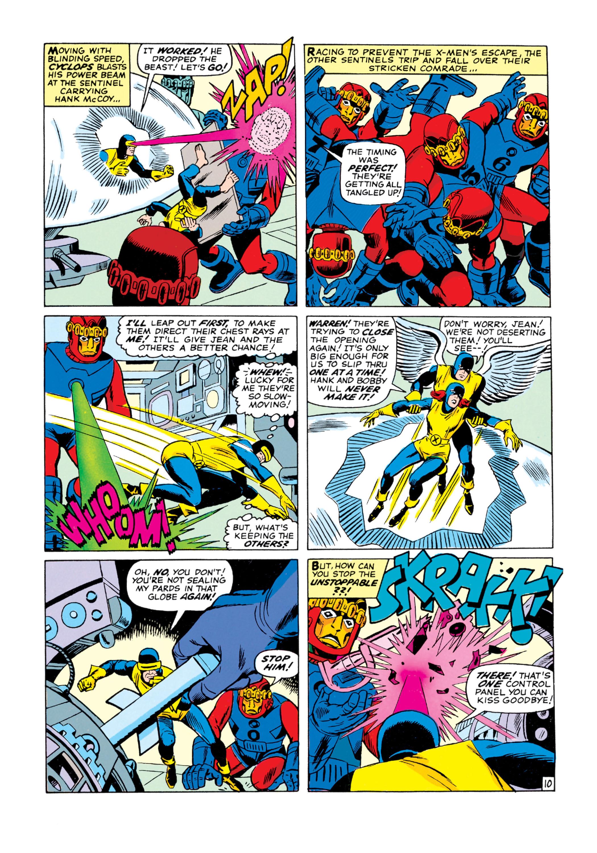 Read online Uncanny X-Men (1963) comic -  Issue #16 - 11