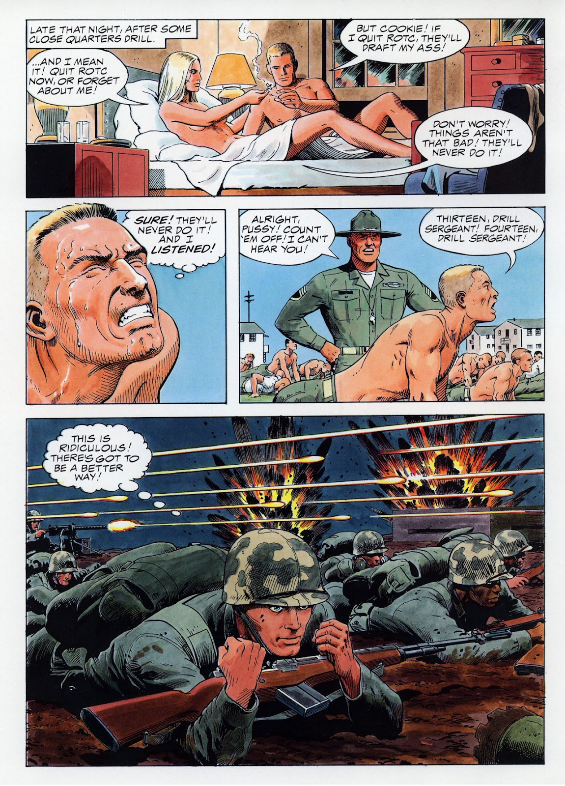 Epic Graphic Novel: Hearts and Minds issue Full - Page 18