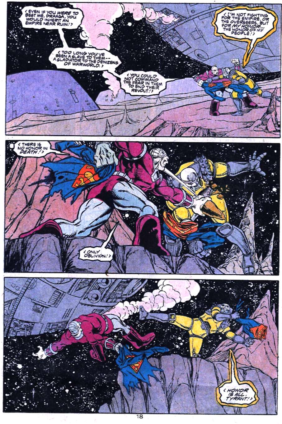 Read online Adventures of Superman (1987) comic -  Issue #455 - 19