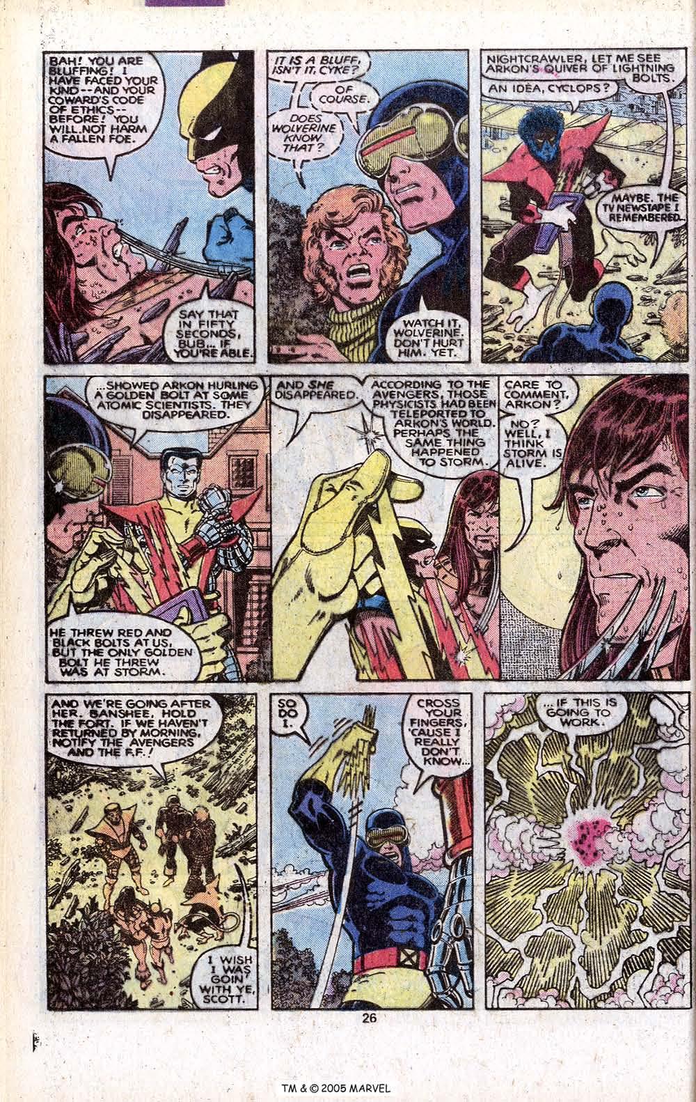 Read online Uncanny X-Men (1963) comic -  Issue # _Annual 3 - 28
