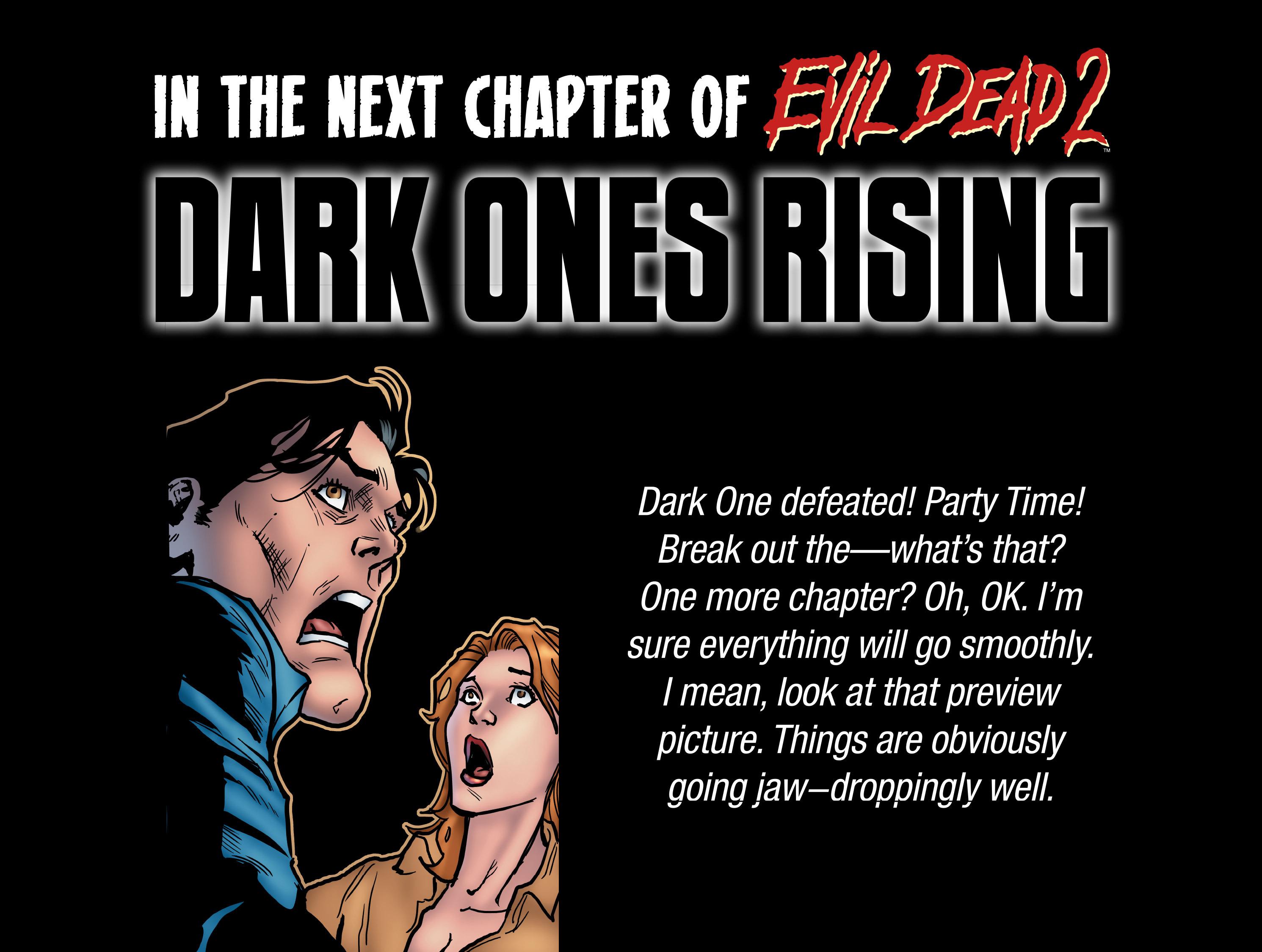 Read online Evil Dead 2: Dark Ones Rising comic -  Issue #5 - 24
