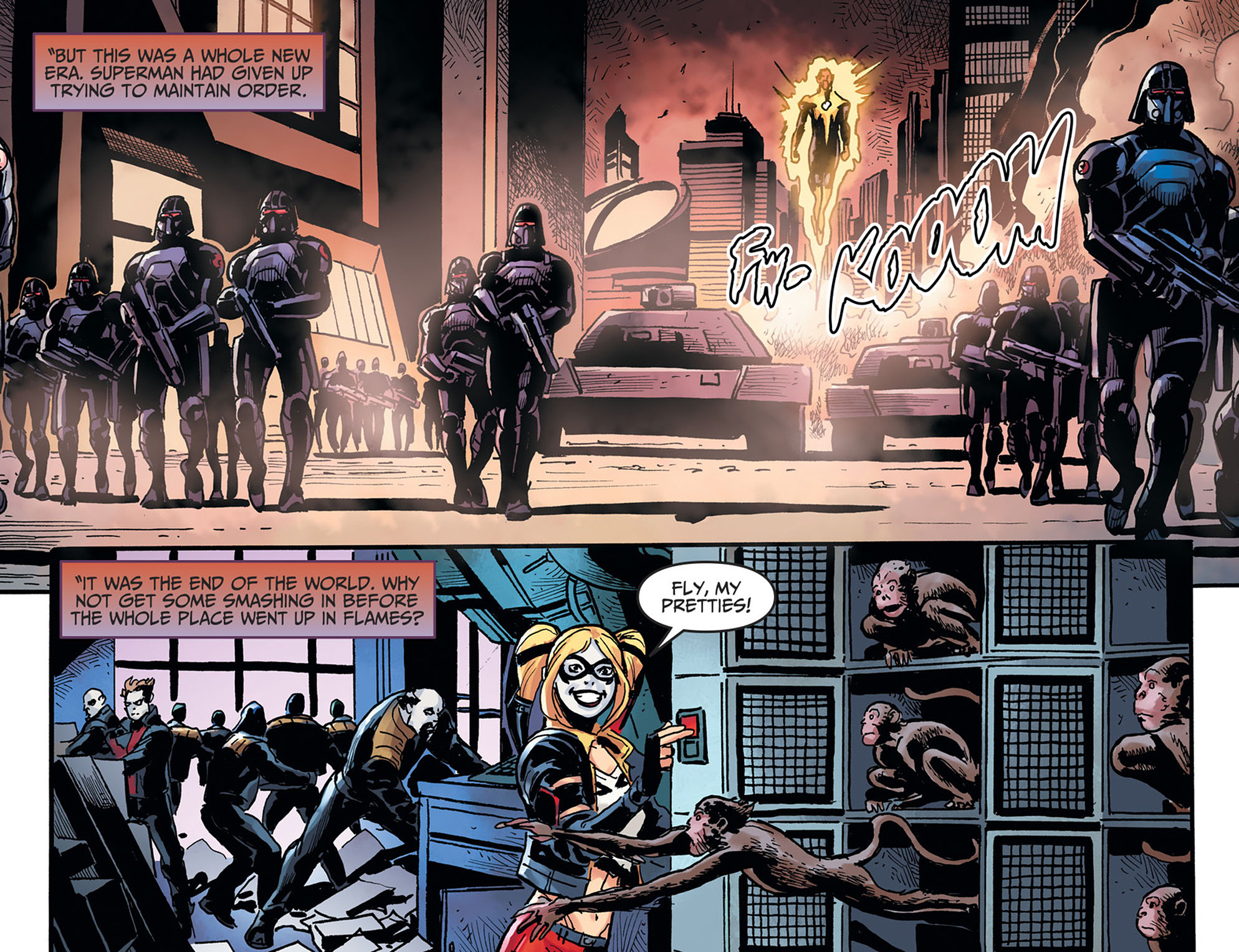 Read online Injustice: Ground Zero comic -  Issue #22 - 6