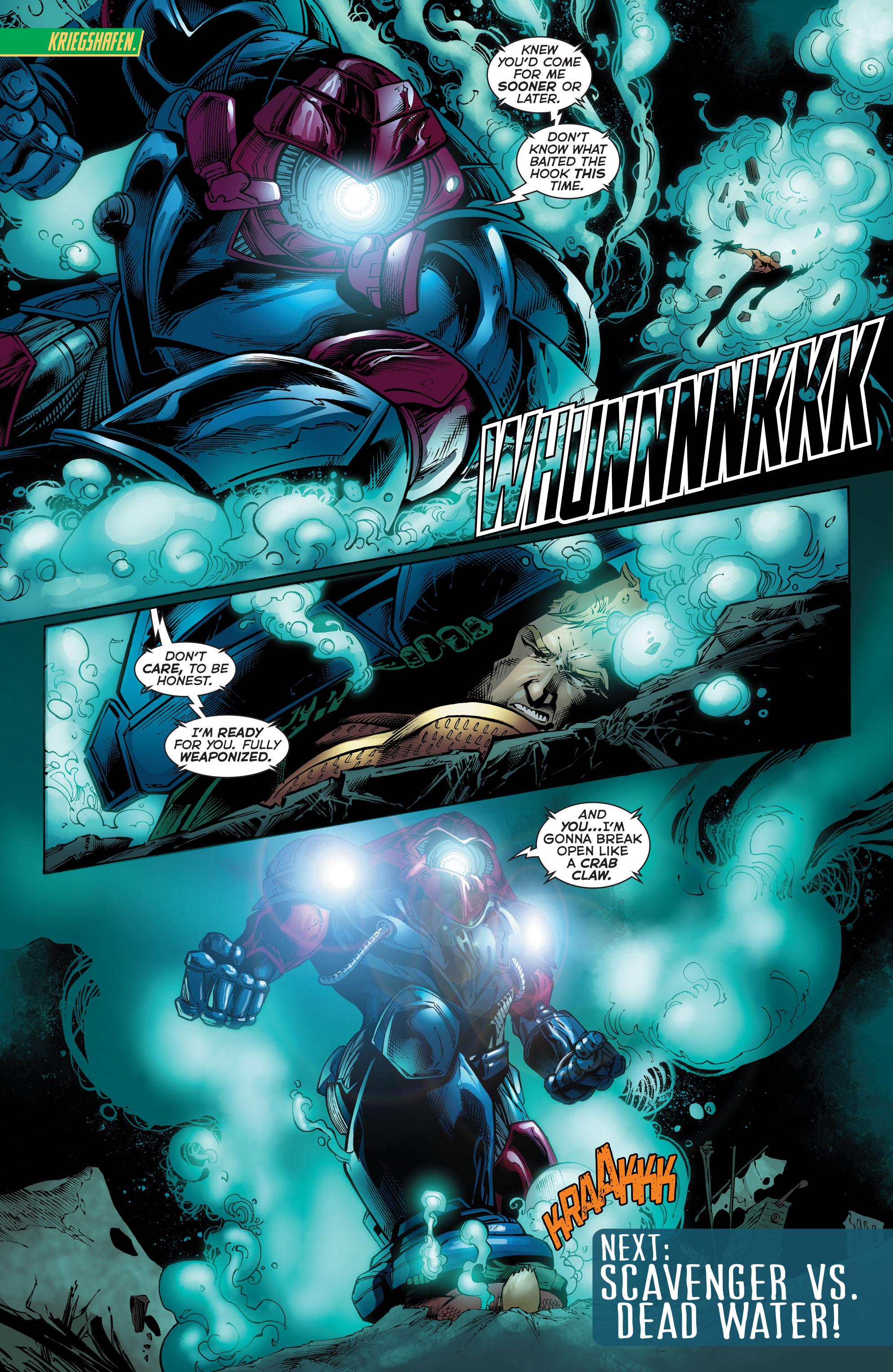 Read online Aquaman (2011) comic -  Issue #51 - 23