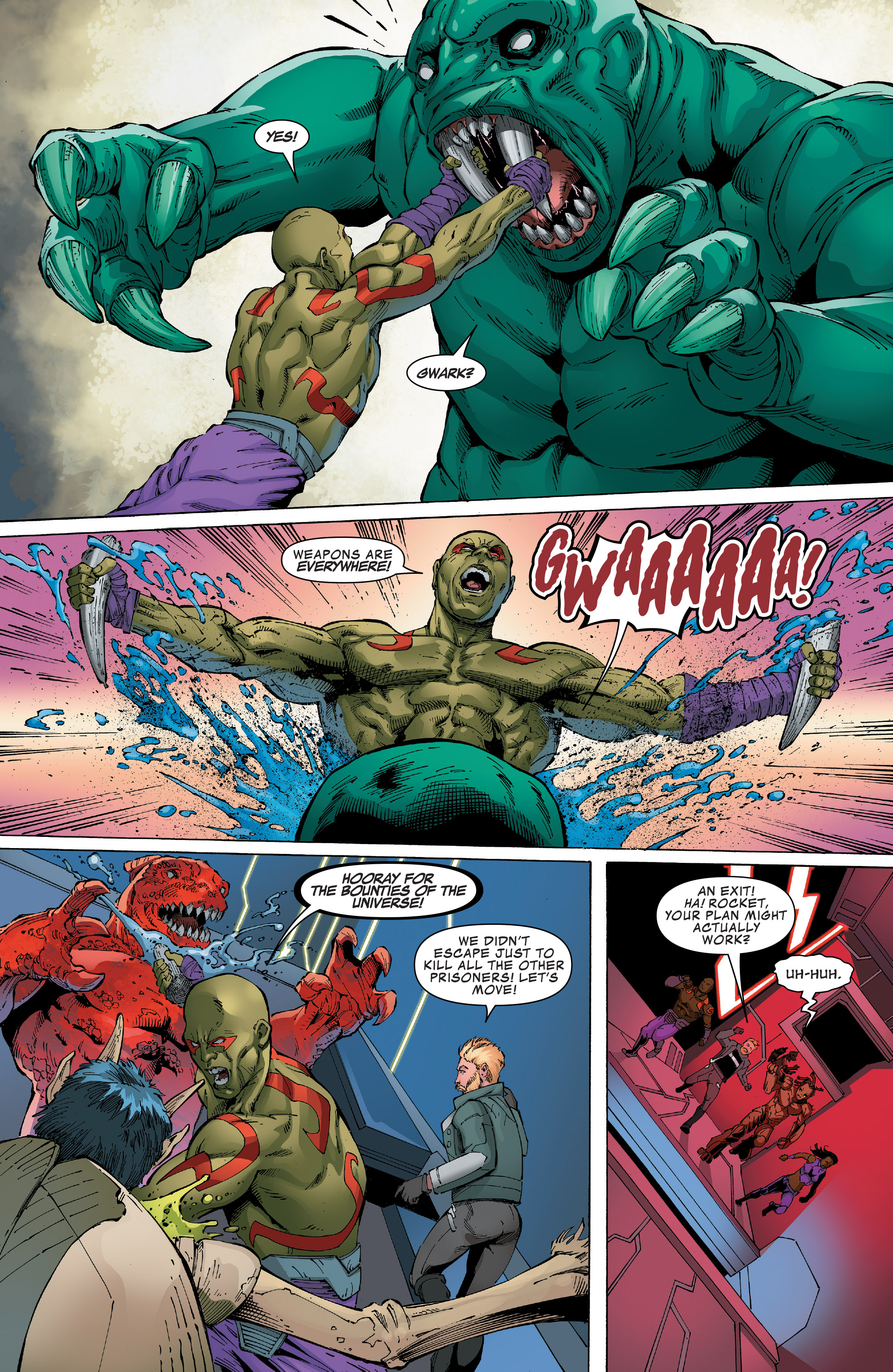Read online Guardians of the Galaxy: Mission Breakout comic -  Issue # Full - 25