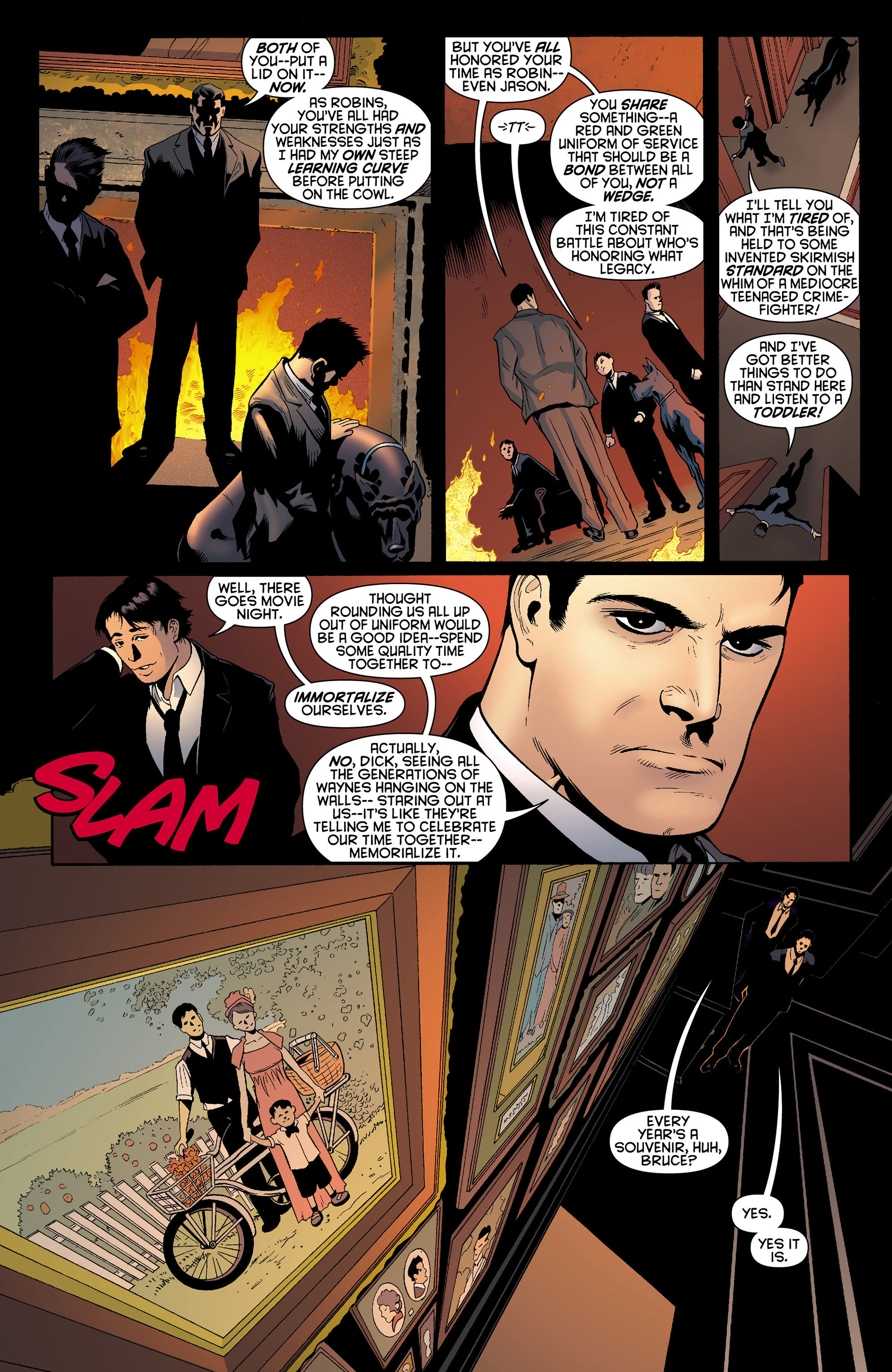 Read online Batman and Robin (2011) comic -  Issue #10 - 8