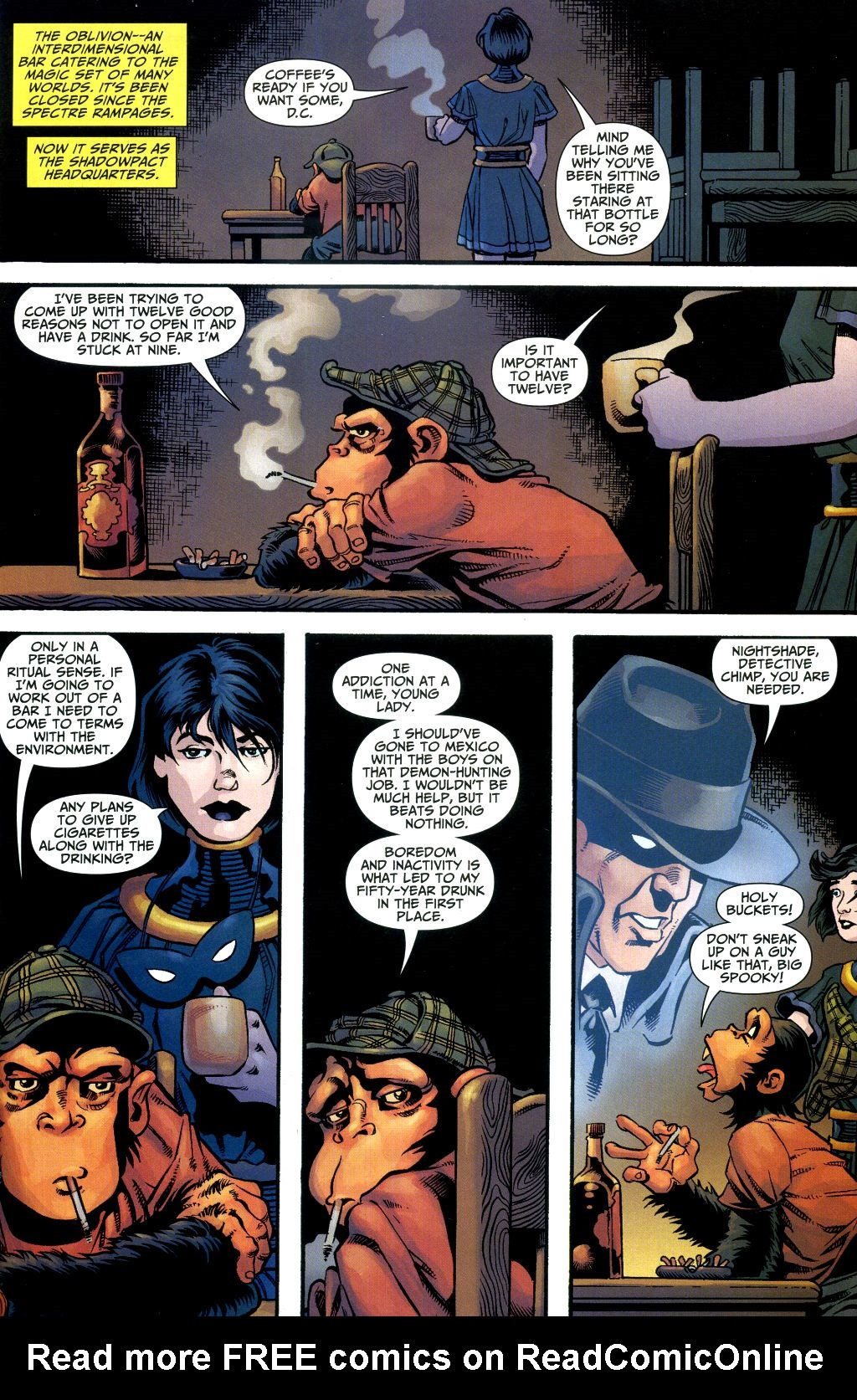 Read online Shadowpact comic -  Issue #1 - 14