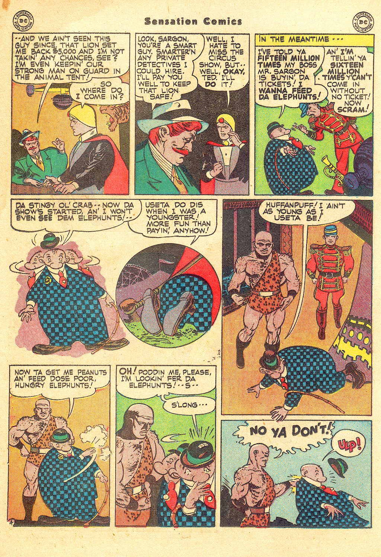 Read online Sensation (Mystery) Comics comic -  Issue #57 - 28