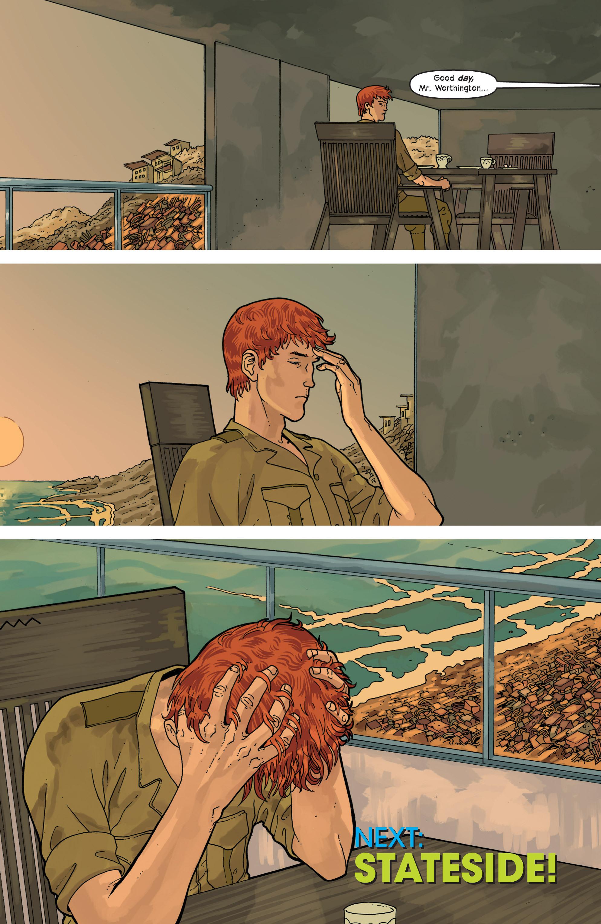 Read online Great Pacific comic -  Issue #9 - 25
