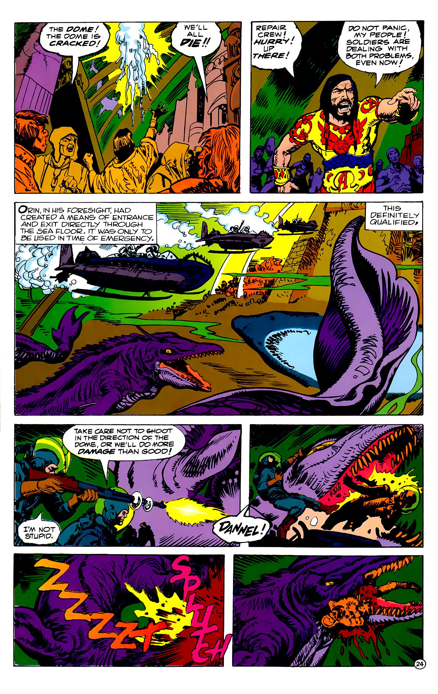 Read online Atlantis Chronicles comic -  Issue #2 - 24