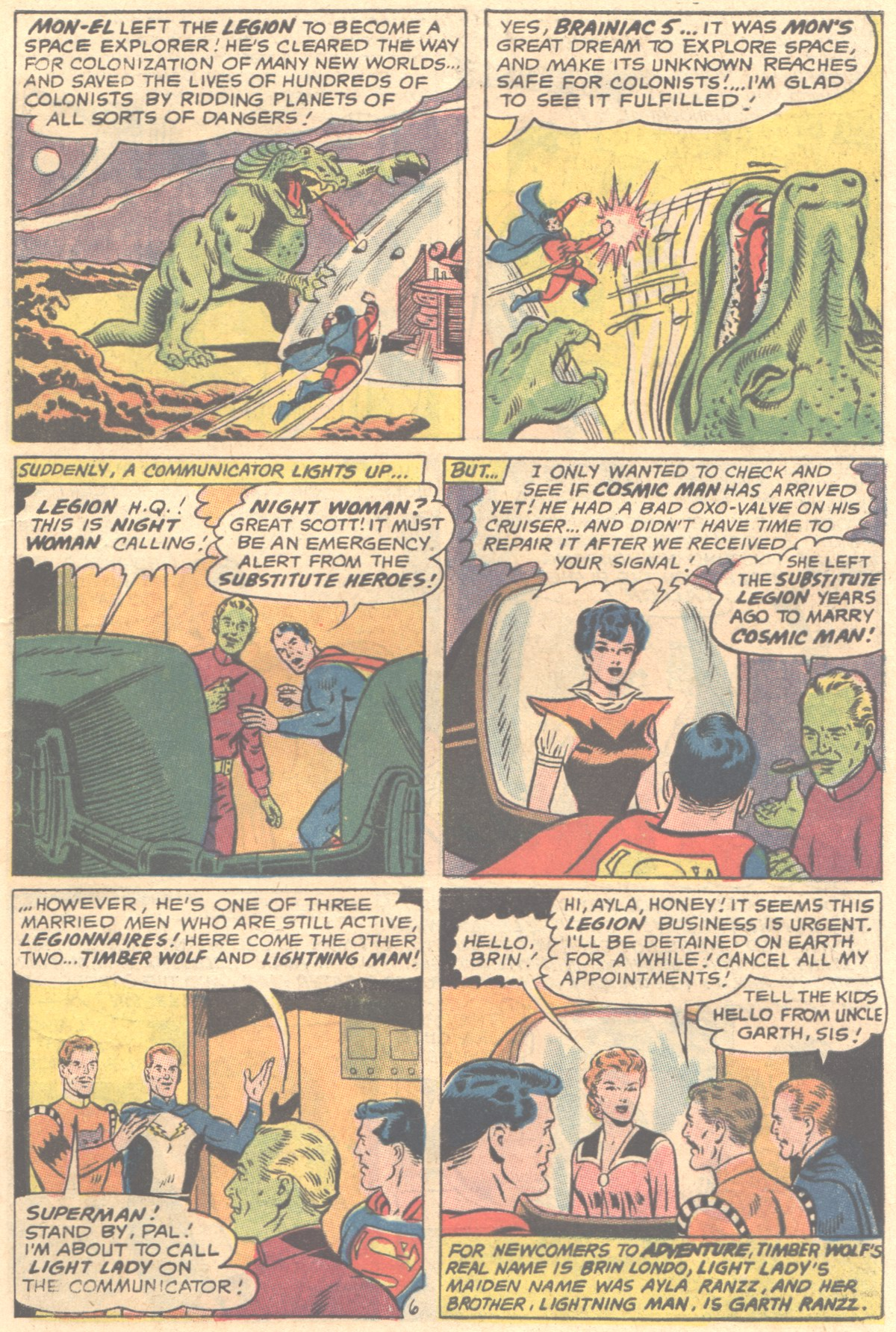 Read online Adventure Comics (1938) comic -  Issue #354 - 9