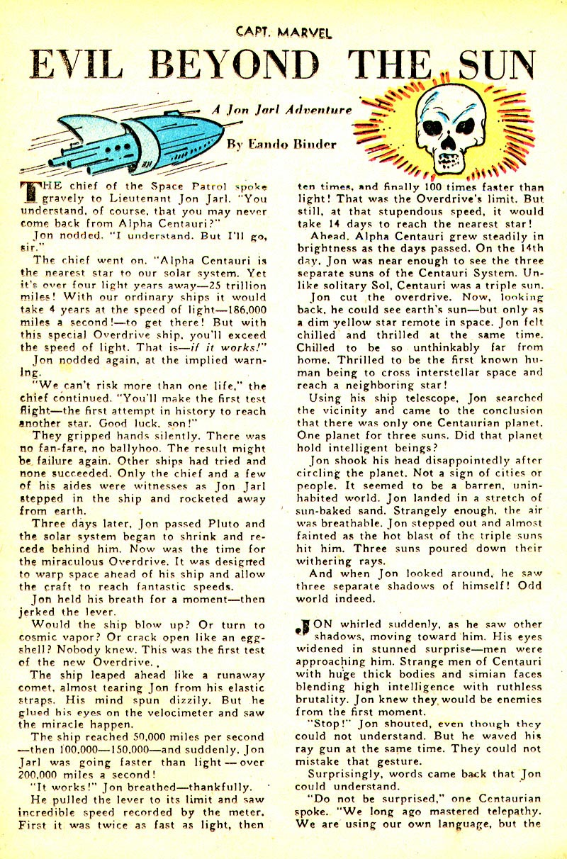 Captain Marvel Adventures issue 93 - Page 33