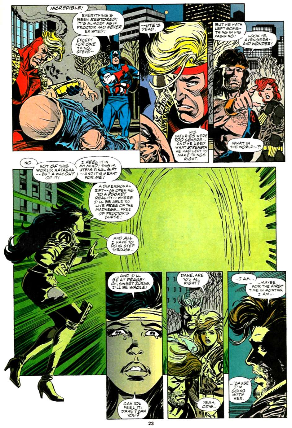 The Avengers (1963) 375 Page 21