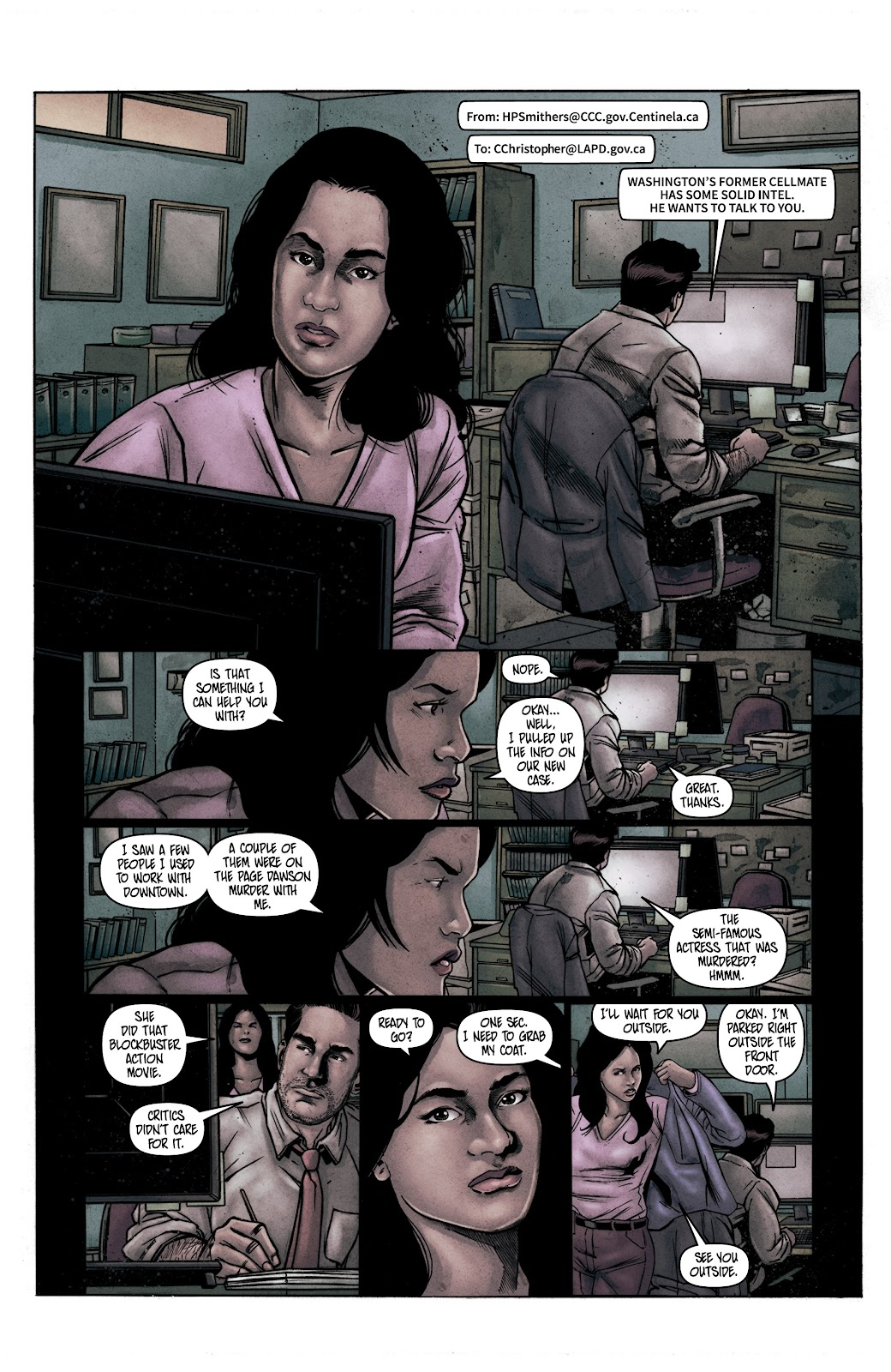 Read online Vindication comic -  Issue #1 - 12