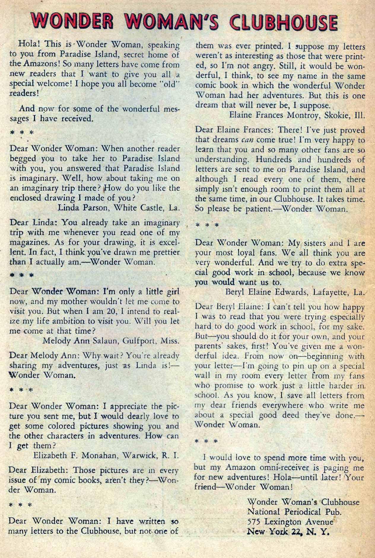 Read online Wonder Woman (1942) comic -  Issue #138 - 22