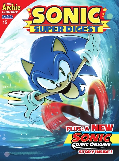 Sonic Super Digest 15 Page 1