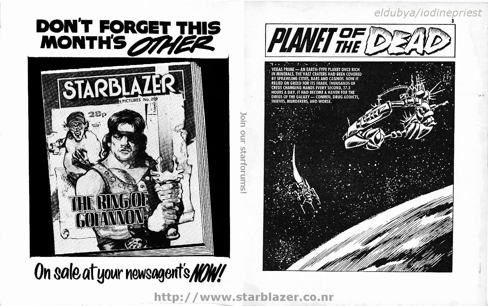 Starblazer issue 208 - Page 3