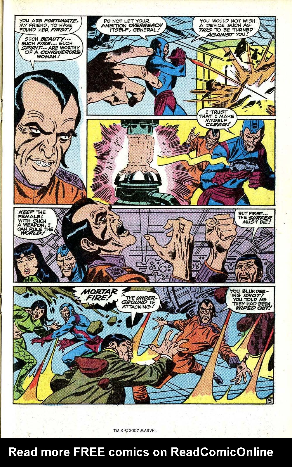 Read online Silver Surfer (1968) comic -  Issue #11 - 21