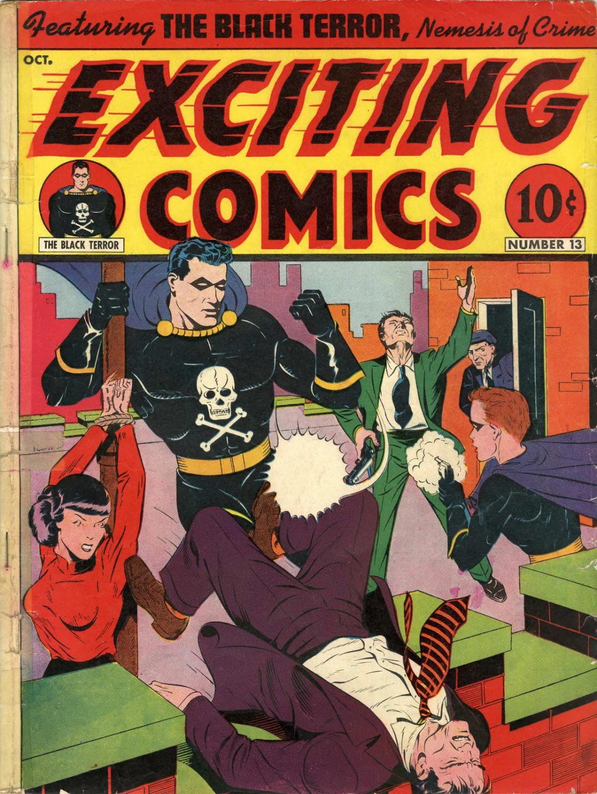 Exciting Comics (1940) issue 13 - Page 1