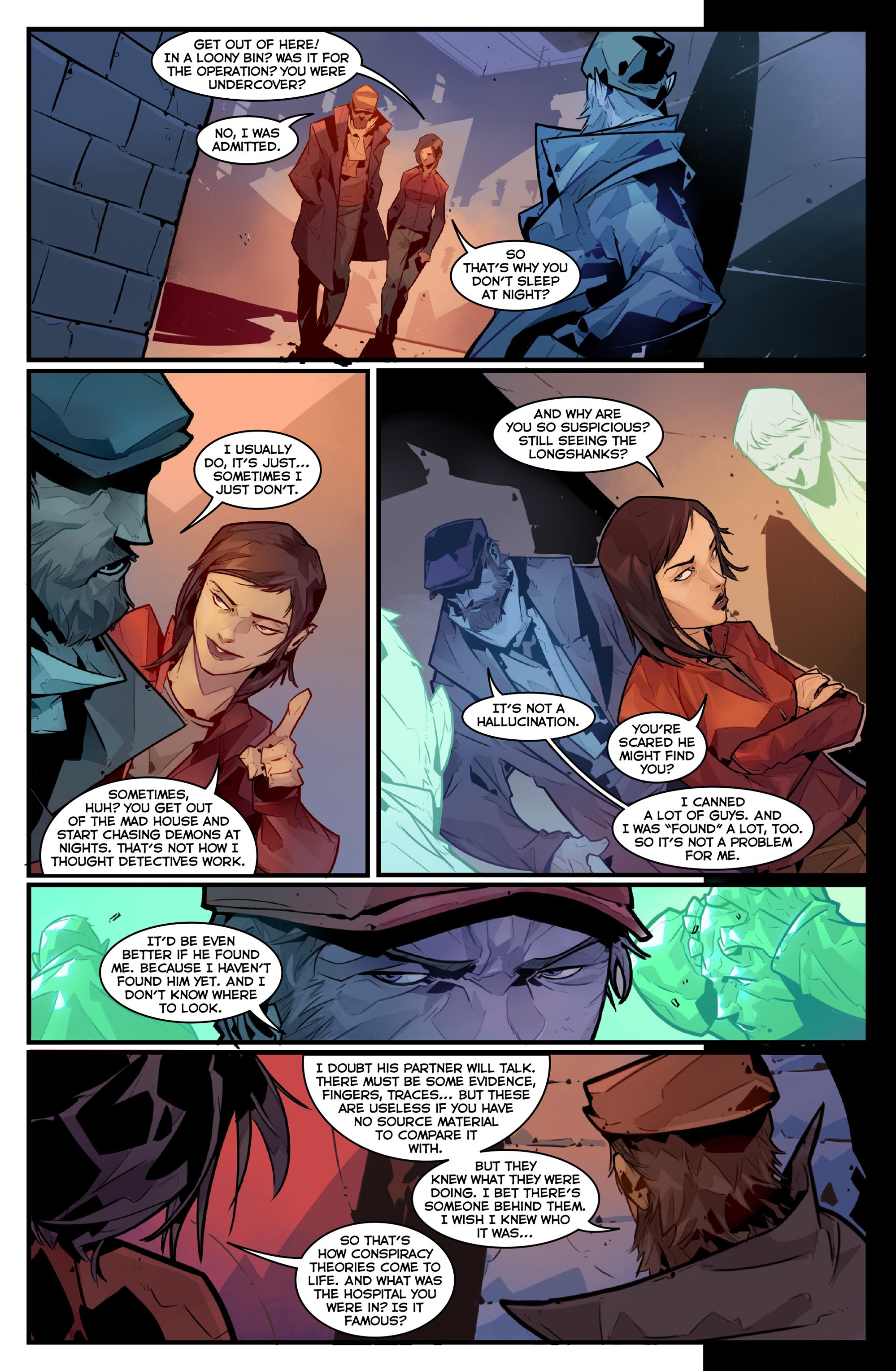 Read online Igor Grom comic -  Issue #4 - 15