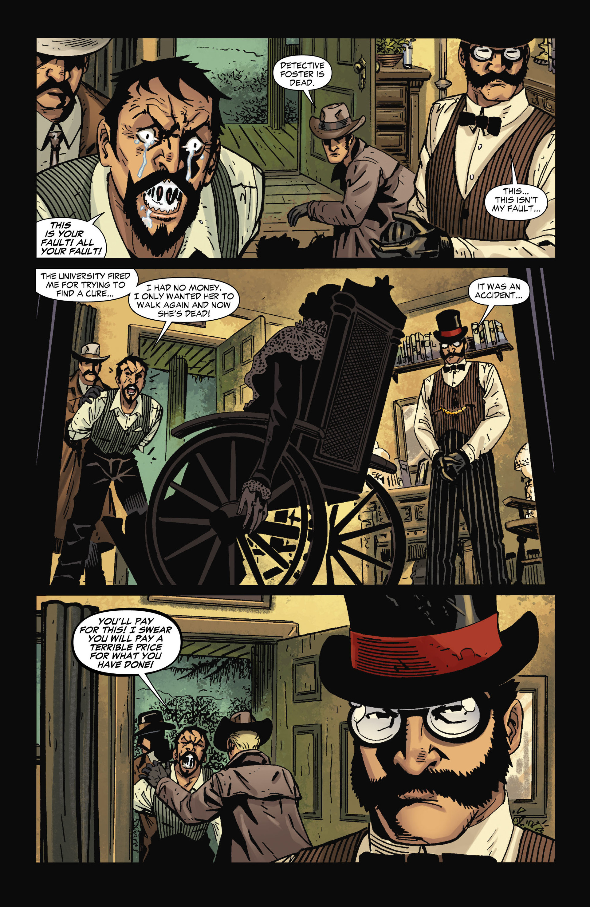 Read online All-Star Western (2011) comic -  Issue #12 - 27