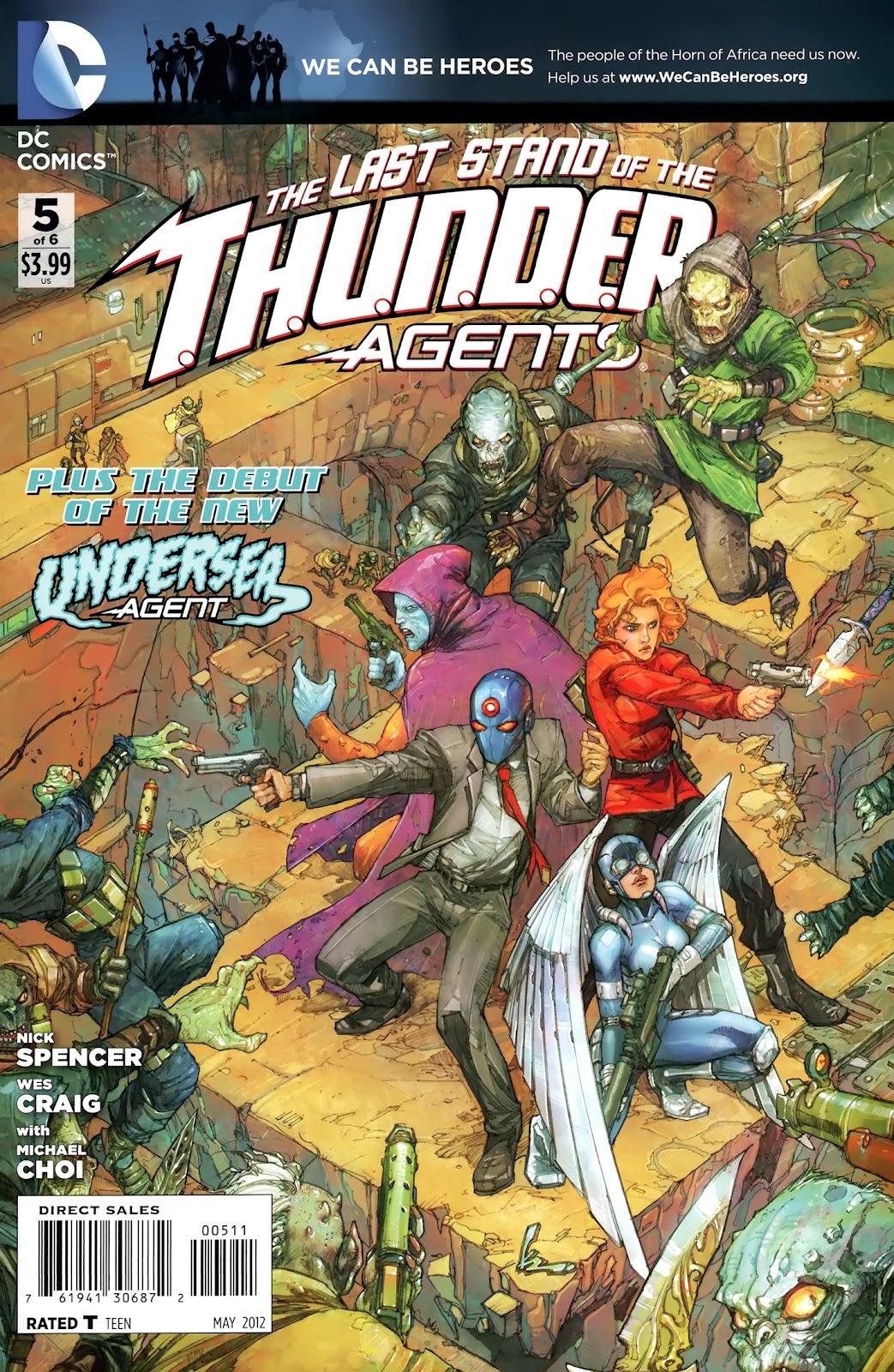 T.H.U.N.D.E.R. Agents (2012) 5 Page 1
