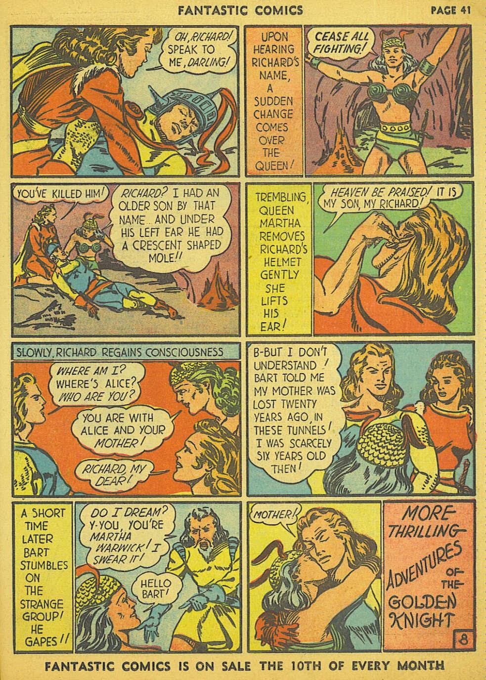 Read online Fantastic Comics comic -  Issue #15 - 35