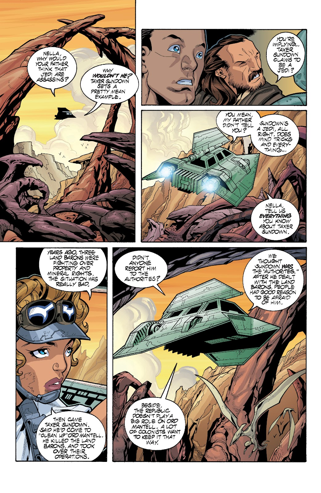 Read online Star Wars Legends: Rise of the Sith - Epic Collection comic -  Issue # TPB 1 (Part 4) - 5