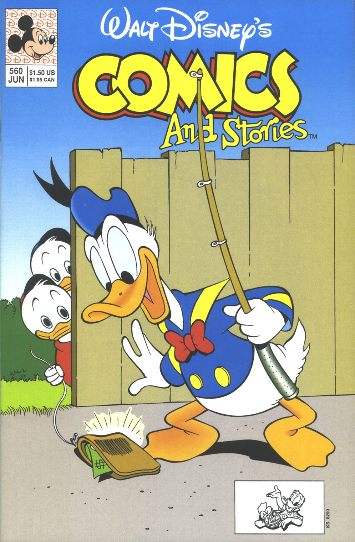Walt Disneys Comics and Stories 560 Page 1