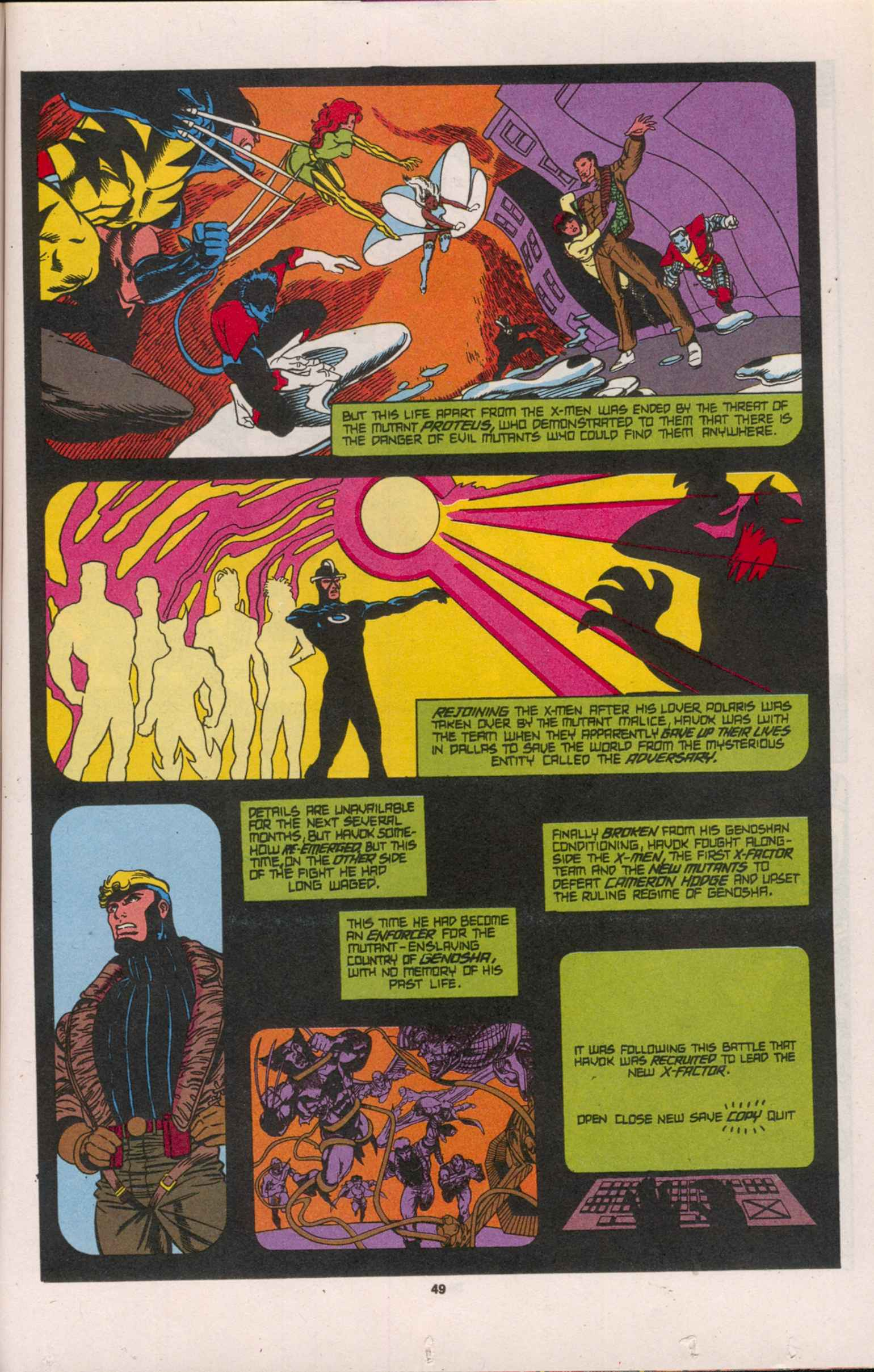 Read online X-Factor (1986) comic -  Issue # _ Annual 8 - 44