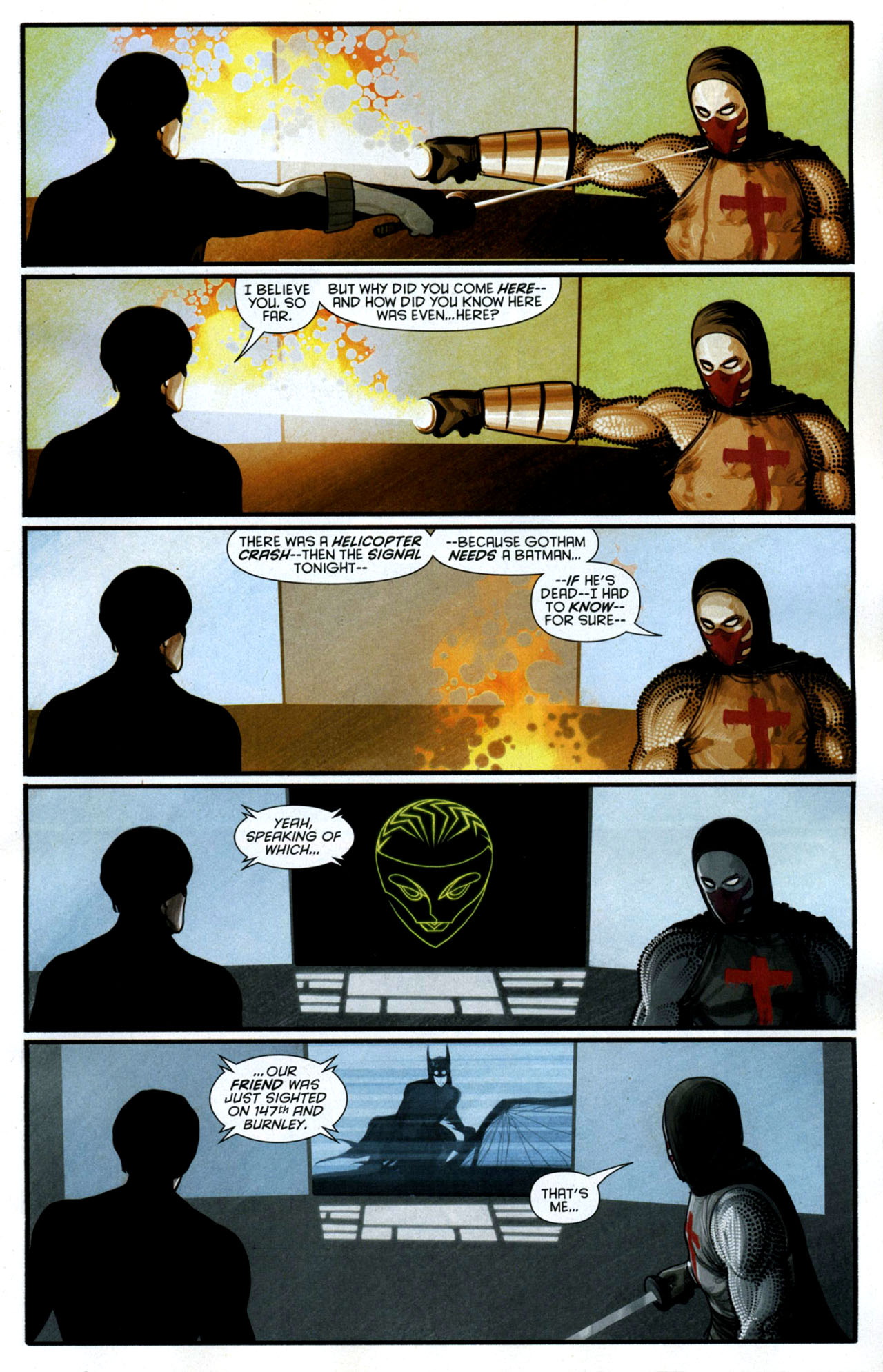 Read online Azrael: Death's Dark Knight comic -  Issue #3 - 13