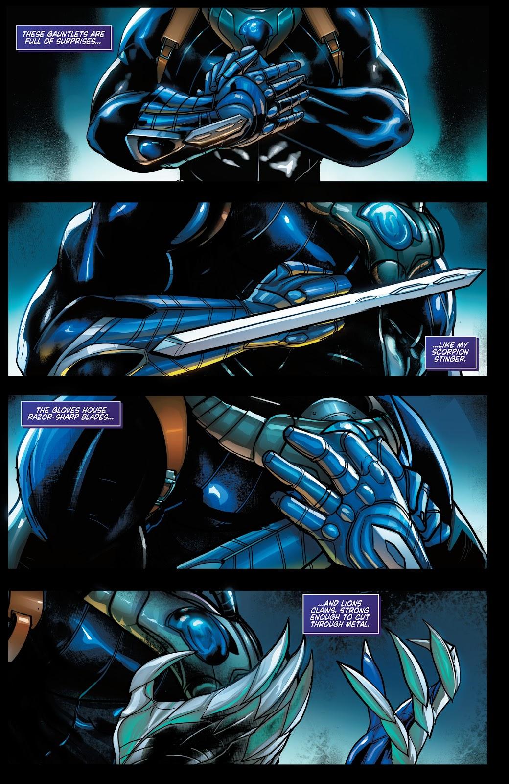 Read online Zodiac comic -  Issue #1 - 4