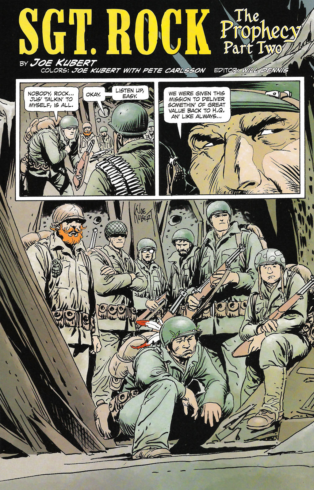 Read online Sgt. Rock: The Prophecy comic -  Issue #2 - 3