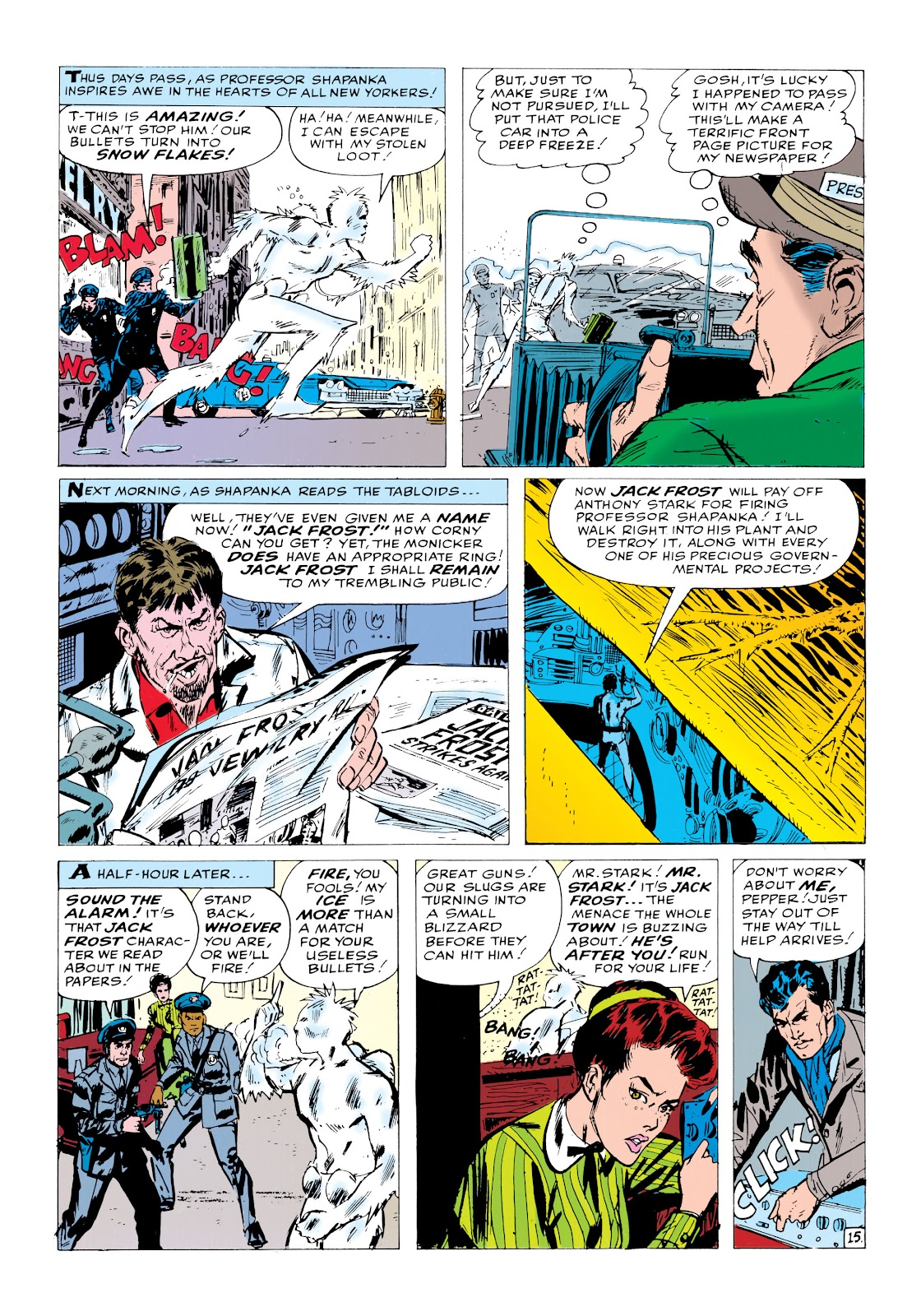 Read online Marvel Masterworks: The Invincible Iron Man comic -  Issue # TPB 1 (Part 2) - 2