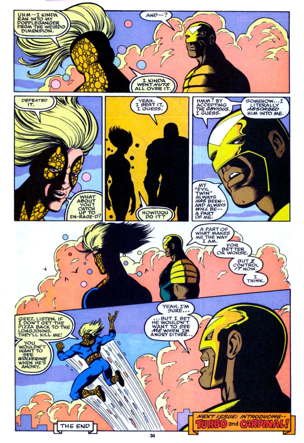 The New Warriors Issue #27 #31 - English 23