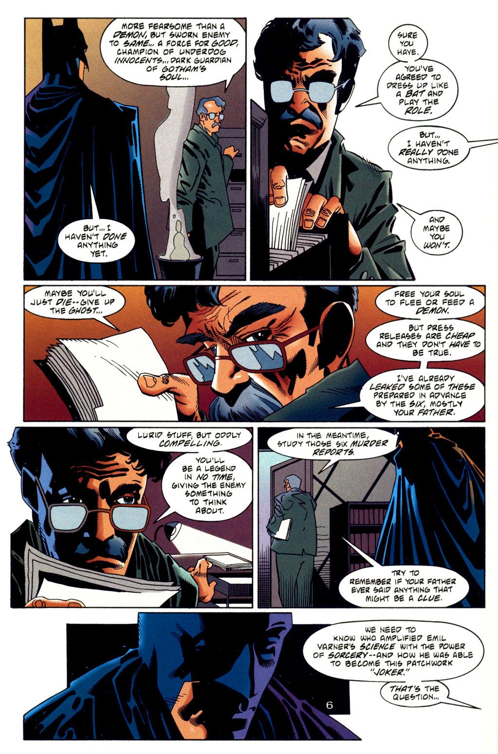 Read online Batman: Haunted Gotham comic -  Issue #2 - 8