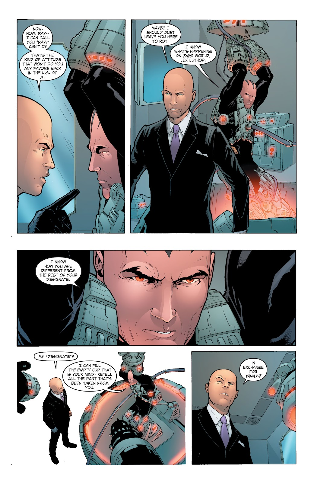 Read online Smallville Season 11 [II] comic -  Issue # TPB 6 - 98