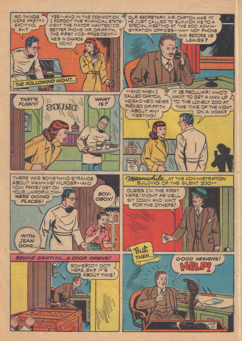 Exciting Comics (1940) issue 13 - Page 8