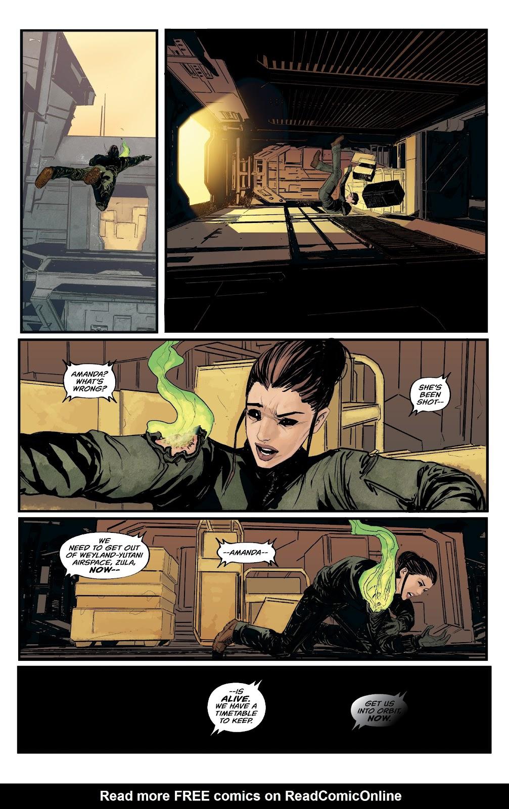 Read online Aliens: Resistance comic -  Issue #1 - 16