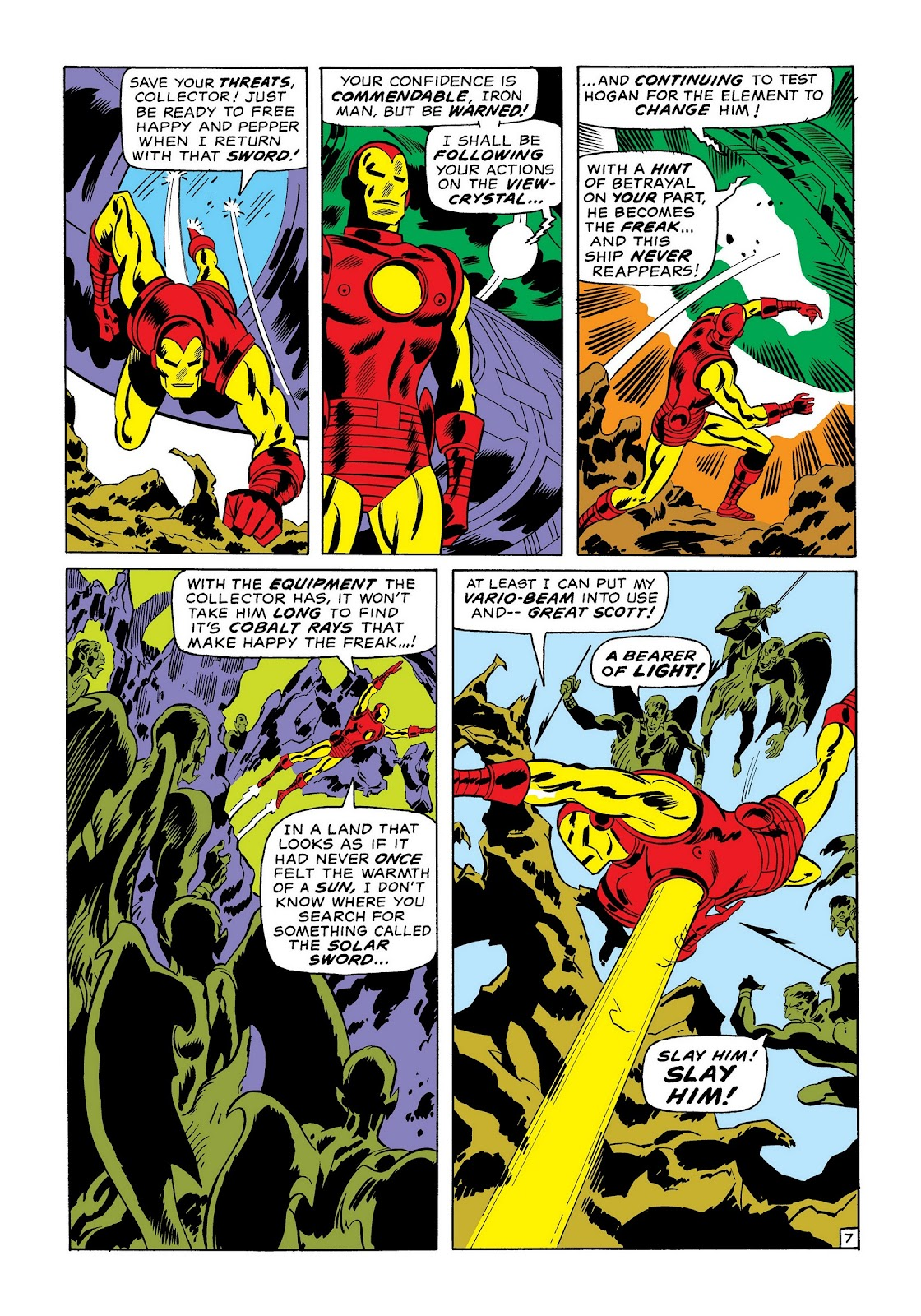 Read online Marvel Masterworks: The Invincible Iron Man comic -  Issue # TPB 7 (Part 1) - 16