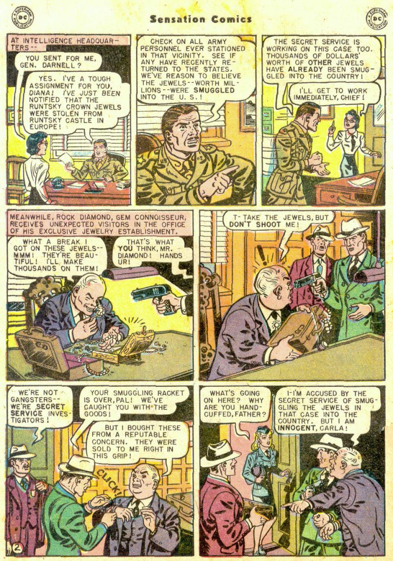 Read online Sensation (Mystery) Comics comic -  Issue #74 - 4